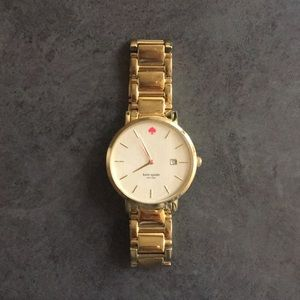 Kate Spade Grammercy gold watch